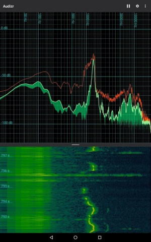 Audizr - Spectrum Analyzer 0.9.8 Screen 2