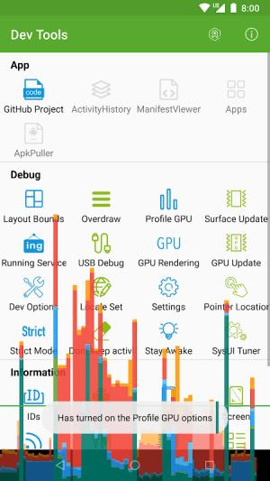 Dev Tools 2.5.0 Screen 2