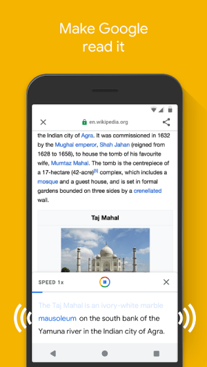 Google Go: A lighter, faster way to search 2.11.271102007.release.go Screen 6