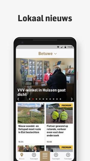de Gelderlander - Nieuws, Sport & Entertainment 5.2.10 Screen 1