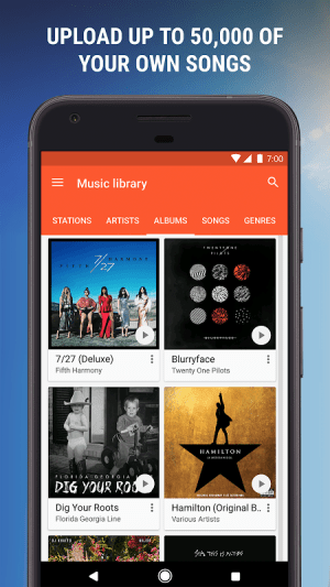 Google Play Music 8.1.6419-3.X Screen 10