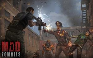 The Dead Uprising : MAD ZOMBIES 5.27.0 Screen 1