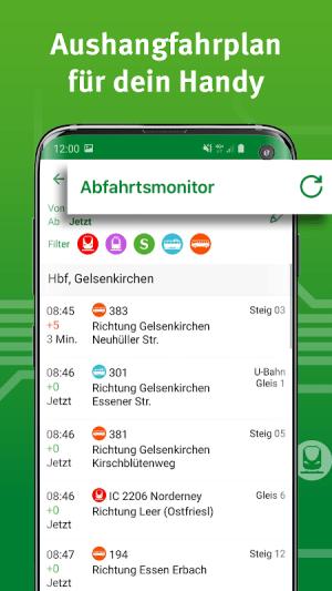VRR-App - Fahrplanauskunft 5.37.14418 Screen 6