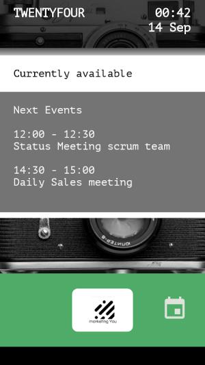 Meeting Room Schedule 7235 Screen 7