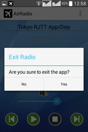 AirRadio PRO 5.0.0 Screen 12