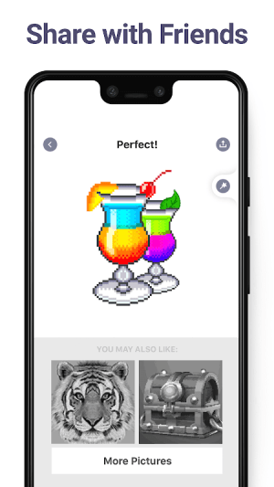 Android Pixel Art: Colour by Numbers Book Screen 5