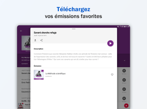 Radio France - podcasts, direct radios 5.18.0 Screen 8