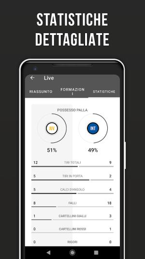 Bianconeri Live – Fan app di calcio non ufficiale 3.2.16 Screen 2
