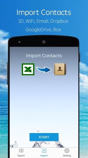 SA Contacts 2.8.15 Screen 1