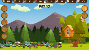 Zombie Forest HD: Survival 1.23c Screen 5