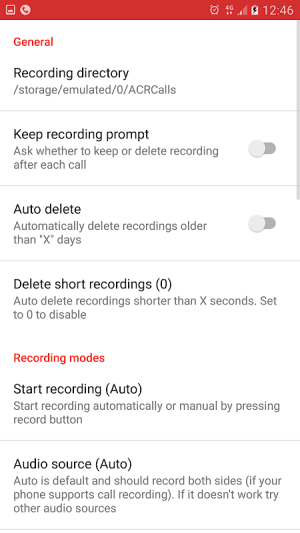 Call Recorder - ACR 33.0-unChained Screen 7