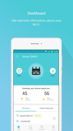 TP-Link Tether 3.3.17 Screen 2