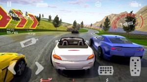 Android King of Race: 3D Car Racing Screen 1