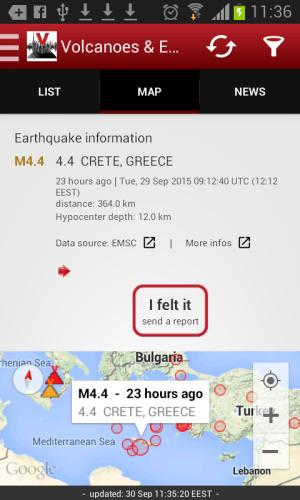 Volcanoes & Earthquakes 2.5.1 Screen 3