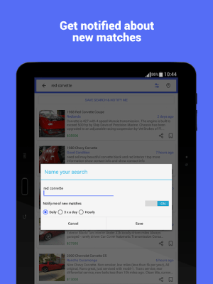 Android Daily Classifieds App Screen 8