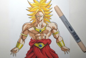 How to draw DBZ 3.0 Screen 6