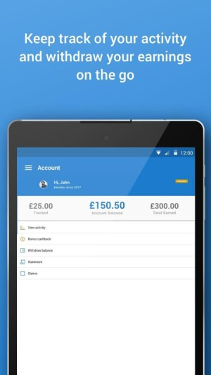 Android Quidco - Cashback, Discounts & Voucher Codes Screen 7
