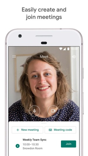 Google Meet – Secure video meetings 2021.04.18.369492438.Release Screen 11