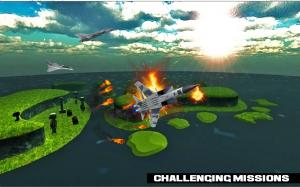 Android air force jet fighter combat Screen 6