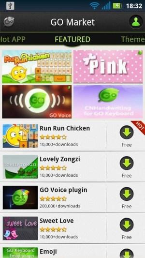GO Keyboard - Emoji, Emoticons 2.20 Screen 2