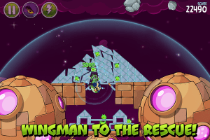 Android Angry Birds Space HD Screen 4