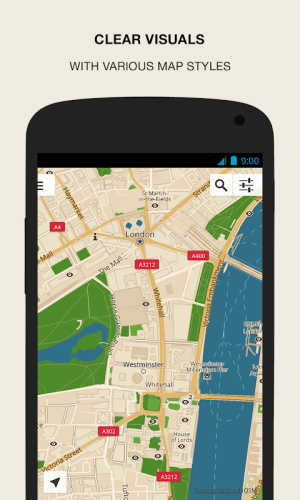 Android GPS Navigation & Maps - Scout Screen 4
