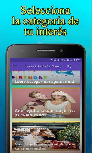 Android Feliz Cumpleaños Screen 6