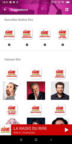Rire & Chansons Radio 6.0.0 Screen 8