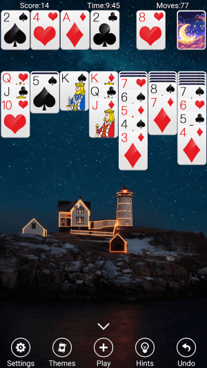 Solitaire 3.4 Screen 1