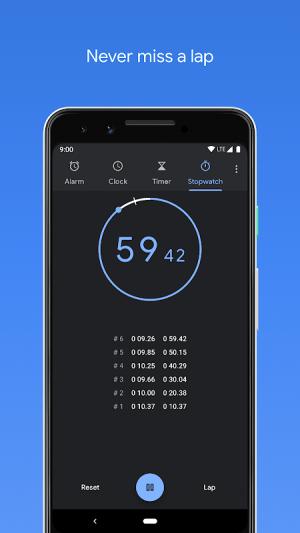Clock 6.2.1 (280557501) Screen 4