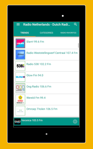 Android Radio Netherlands - Radio Netherlands FM: Radio NL Screen 15