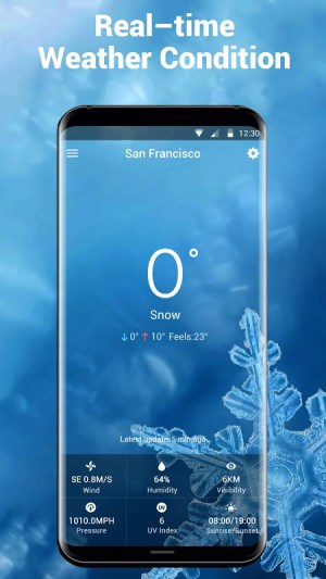 Android Local Weather Report Widget Screen 3
