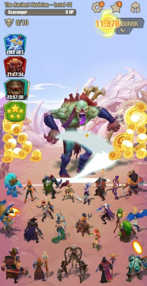 Android Idle game offline clicker: Juggernaut Champions Screen 5