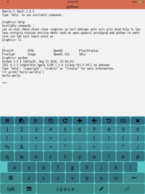 Mobile C ( C/C++ Compiler ) 2.2.5 Screen 8