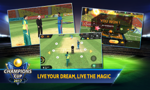 Android Cricket Champions Cup 2017 Screen 4