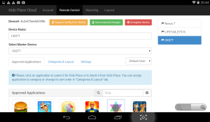Kids Place Remote Control and Monitoring 1.3.4 Screen 1