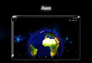 🌍 Earth Live Wallpaper 🌍 1.37 Screen 1