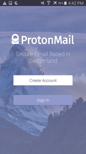 ProtonMail - Encrypted Email 1.11.0 Screen 6