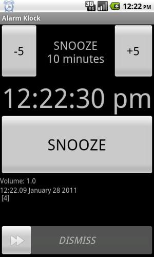 Alarm Klock 1.8 Screen 1