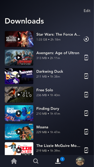 Disney+ 1.7.0 Screen 1