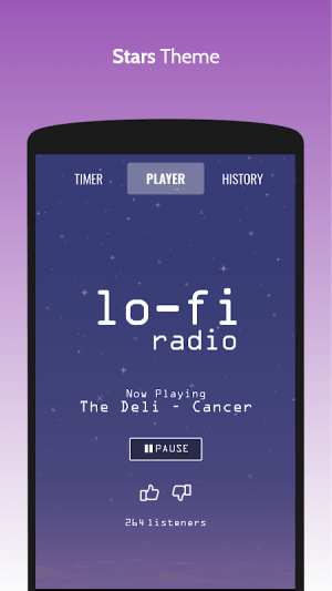 Lo-Fi Radio - Work, Study, Chill 1.0 Screen 6