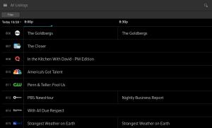 XFINITY Stream 4.3.0.020 Screen 6