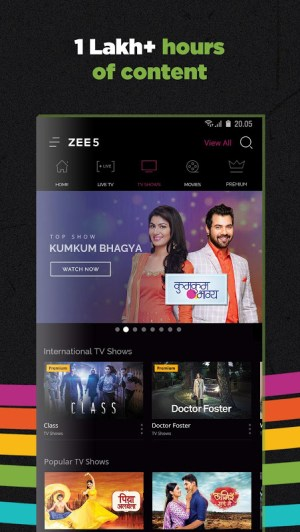 ZEE5 - Movies, TV Shows, LIVE TV & Originals 11.2.129 Screen 3