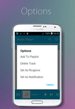 Music Player 1.0 Screen 1