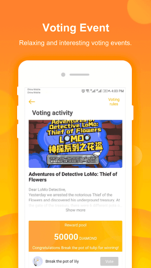 Android LoMoStar Screen 1