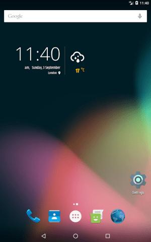 Simple weather & clock widget (no ads) 0.9.13 Screen 6