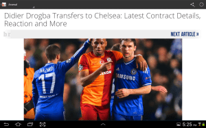 Bleacher Report 5.4.1 Screen 2