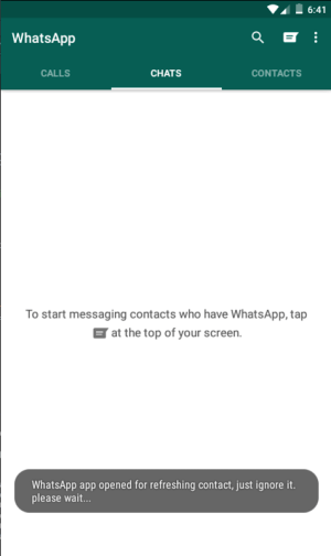 Android Direct chat for WhatsApp Screen 3