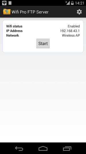 WiFi Pro FTP Server 1.9.5 Screen 5