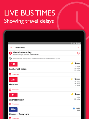 Bus Times London – TfL timetable and travel info 2.6.3 Screen 3